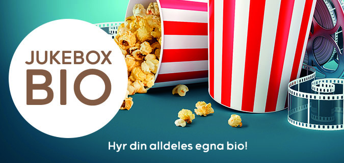 JUKEBOXBIO – HYR DIN EGNA SALONG!
